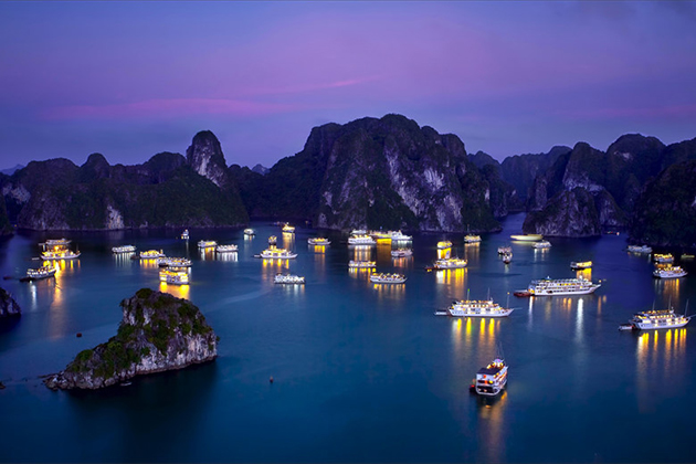 Halong Bay Overnight Cruise, Halong Bay Package Tours, Cozy Vietnam Travel, Vietnam Tours