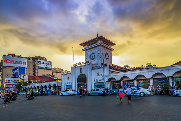 Ben Thanh Market, Saigon Package Tours, Cozy Vietnam Travel