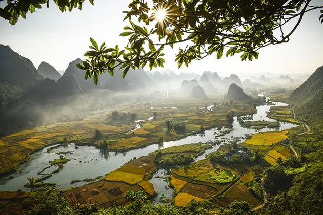 Keo Yen Karst Landscape in Cao Bang, Travel, Cozy Vietnam Travel