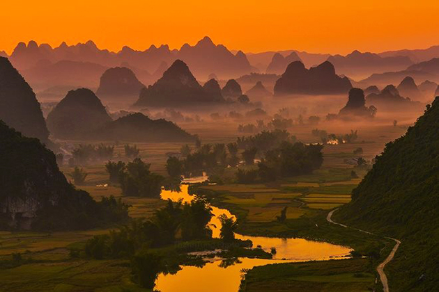 Tra Linh Districts in Cao Bang, Tour, Cozy Vietnam Travel