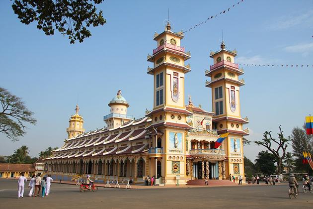 Cao Dai Temple, Cozy Vietnam Travel