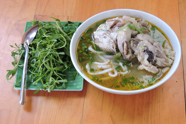 Chau Doc Snakehead Fish Noodles, An Giang, Tours, Cozy Vietnam Travel