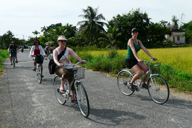 Hoi an cycle tours, Hoi an City Tours, Cozy Vietnam Package Tours