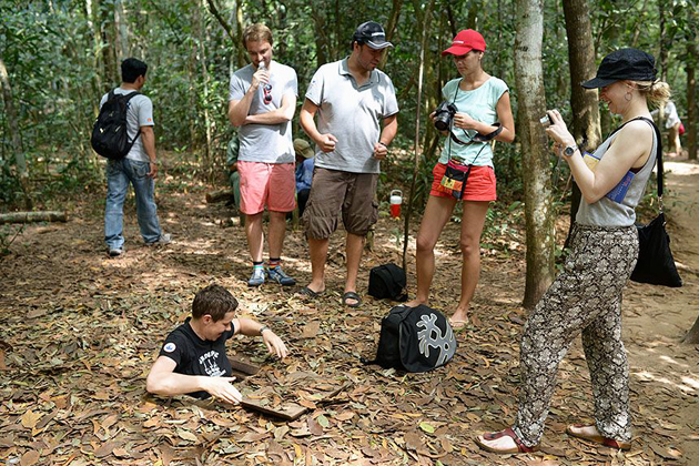 Cu Chi Tunnels, Cu Chi Travel, Cozy Vietnam Tours