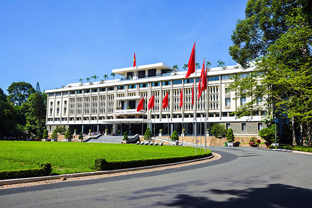 Presidential Palace in Saigon, Saigon City Tours, Cozy Vietnam Travel, Vietnam Tours