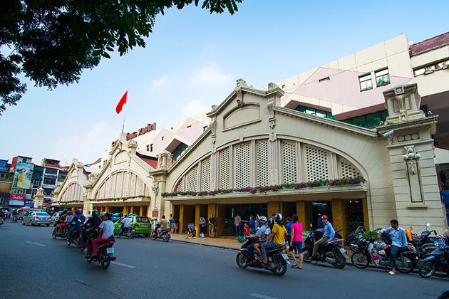 Dong Xuan Market in Hanoi, Tour, Dong Xuan Market, Cozy Vietnam Travel