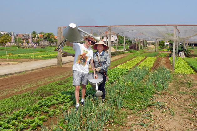 Tra Que Farming in Hoi an, Hoi an Cooking Class Tours, Cozy Vietnam Travel