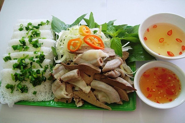 Fine Rice Vermicelli with Pig's Tripes, Khanh Hoa, Travel, Cozy Vietnam Travel