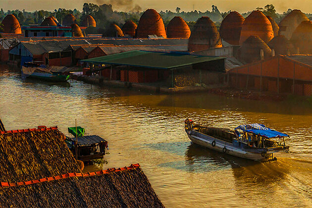 brick kilns in Vinh Long, Mekong Delta Tours, Cozy Vietnam Travel, Vietnam Tours