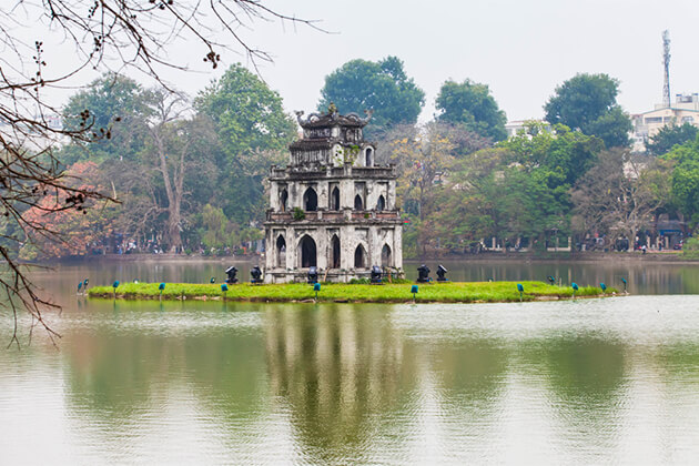 Hoan Kiem Lake, Hanoi City Tours, Vietnam Tours, Cozy Vietnam Travel