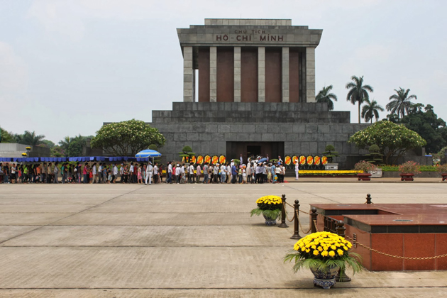 Ho Chi Minh Mausoleum, Cozy Vietnam Travel, Vietnam Tours, Hanoi City Tours
