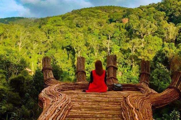 Hoa Son Dien Trang Ecotourism in Da Lat, Lam Dong, Tour, Cozy Vietnam Travel