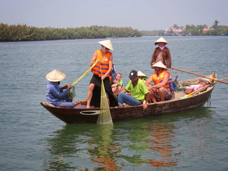 Hoi An Eco Tour Boat, Hoi An Tours, Vietnam Tours, Cozy Vietnam Package Tours