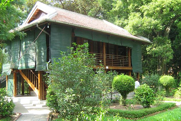 Simple Stilts House, Hanoi, Vietnam, Cozy Vietnam Travel