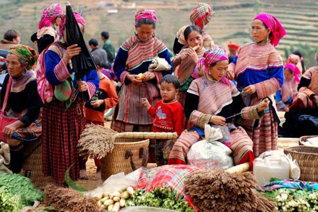 Khau Vai Love Market in Ha Giang, Tour, Cozy Vietnam Travel