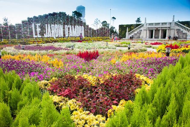 Le Jardin D'Amour Garden in Ba Na Hills, Da Nang, Tours, Da Nang, Cozy Vietnam Travel