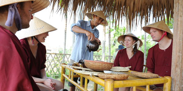 Process of the wet rice grow, Hoi an Tours, Cozy Vietnam Travel