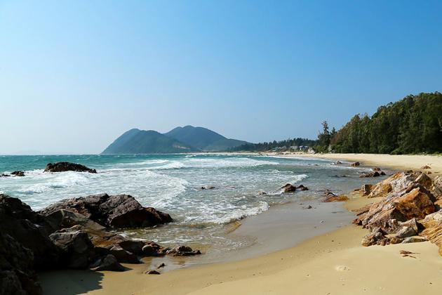Minh Chau Beach, Quan Lan, Tours, Vietnam Cozy Tours