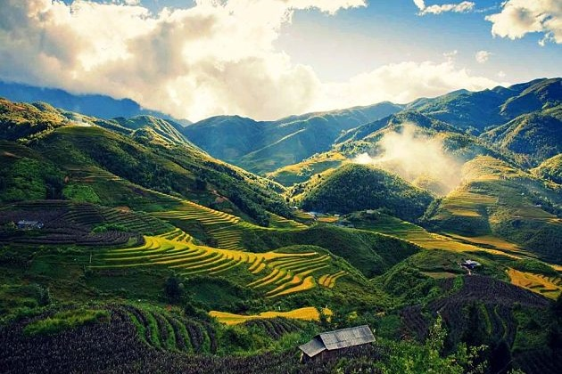 Sapa View, Sapa Walking Tours, Cozy Vietnam Travel