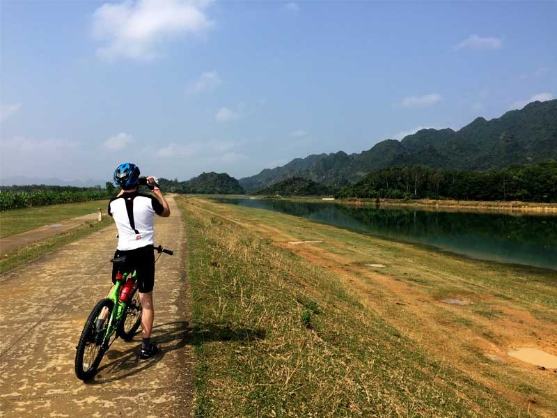Biking on Countryside Road in Ninh Binh, Tours, Cozy Vietnam Travel