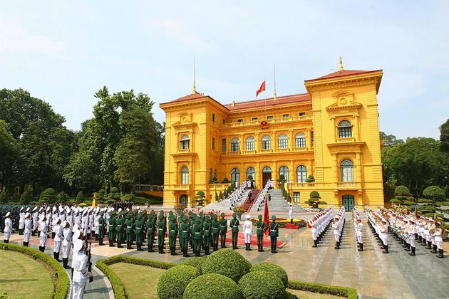 Presidential Palace, Ho Chi Minh Complex, Hanoi City Tours, Cozy Vietnam Travel