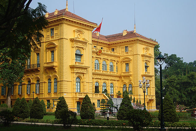 Presidential Palace, Hanoi City Tours, Vietnam Cozy Travel