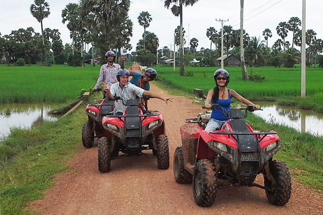 Quad ATV experience in Phnom penh