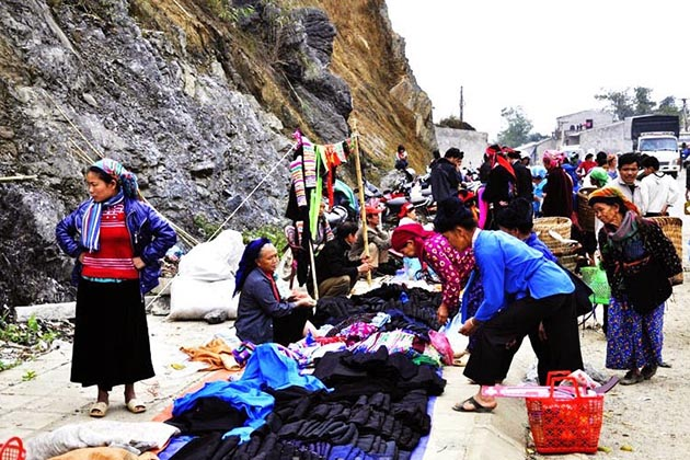 Market in Quyet Tien Commune in Ha Giang, Travel, Cozy Vietnam Travel