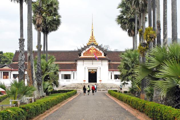 Royal Palace Museum in Luang Prabang, Cozy Vietnam Travel