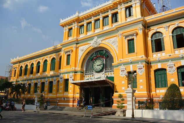 General Post Office Sai Gon, Saigon Travel, Cozy Vietnam Travel