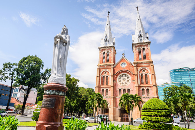 Duc Ba Church, Saigon Tours, Cozy Vietnam Travel, Vietnam Travel Guide