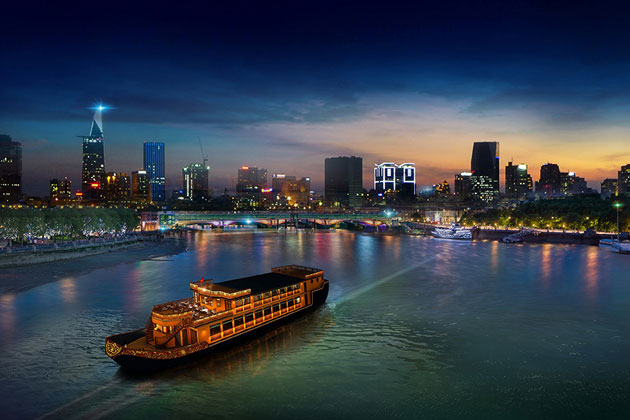 Saigon river cruise, Saigon Tours, Cozy Vietnam Package Tours