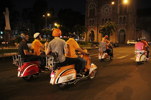 Saigon Vespa Tour, Saigon City Tours, Vietnam Cozy Travel