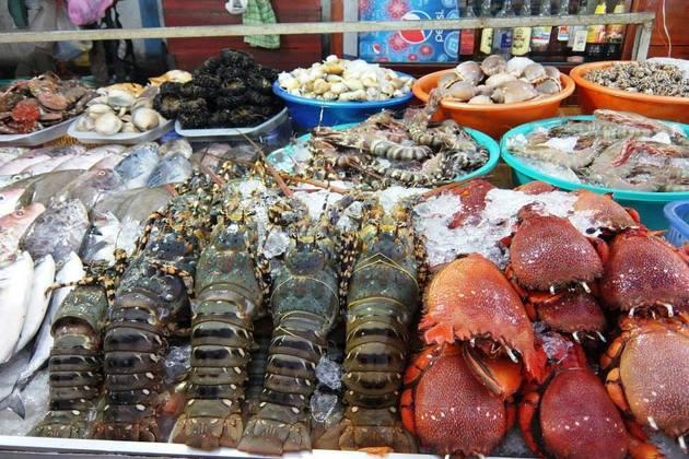 Seafood in Nha Trang Khanh Hoa, Cozy Vietnam Travel