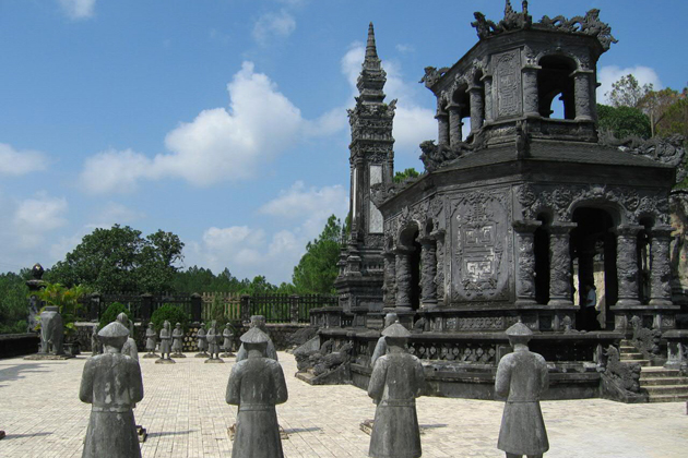 King Khai Dinh's Tomb, Hue City Tours, Cozy Vietnam Tours