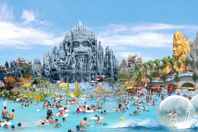 Suoi Tien Amusement Park, Ho Chi Minh City Tours, Vietnam Local Tours, Cozy Vietnam Package Tours