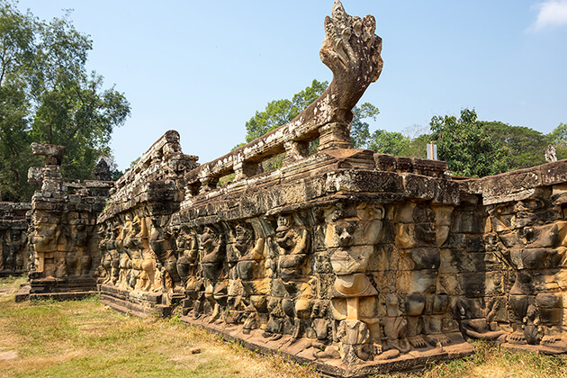 Terrace of the Leper King in siem reap