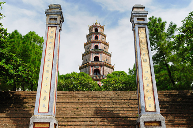 Thien Mu Pagoda, Hue tour, Cozy vietnam travel