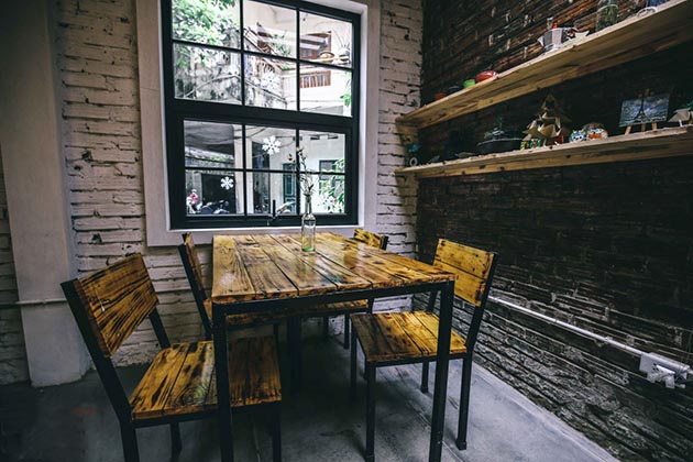 To Chim Xanh Coffee in Hanoi, Tours, Hanoi, Cozy Vietnam Travel