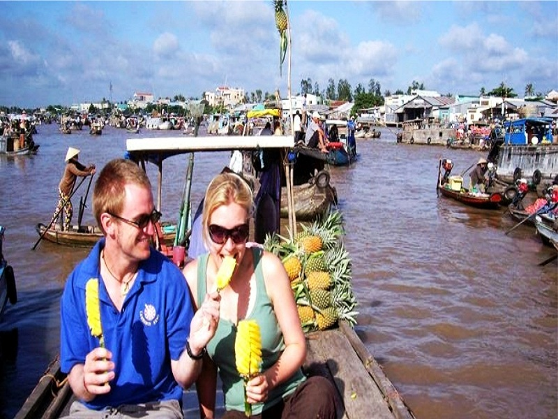 Cai Rang floating market, Vinh Long Tours, Vietnam Tours, Cozy Vietnam Travel