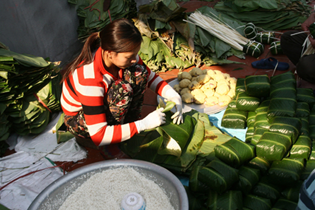 Chung Cake, Travel, Cozy Vietnam Travel