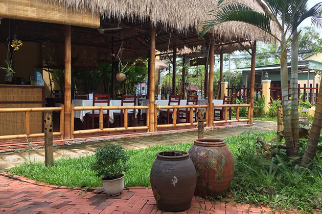 Tropical Garden Restaurant in Hue, Vietnam, Travel Cozy Vietnam