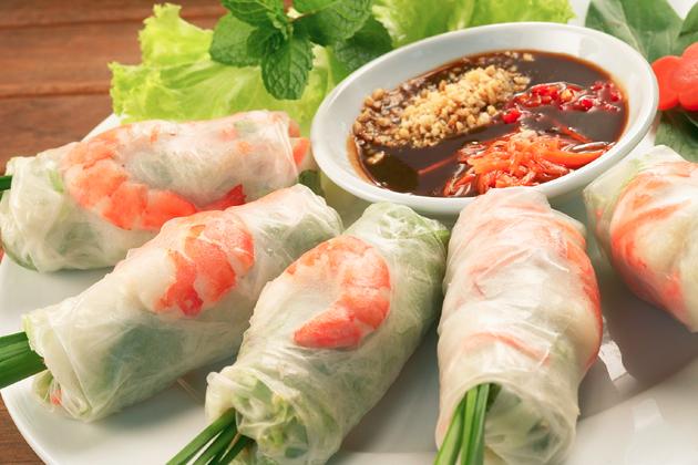 Saigonese spring rolls, Saigon Tours, Cozy Vietnam Tours, Vietnam Package Tours