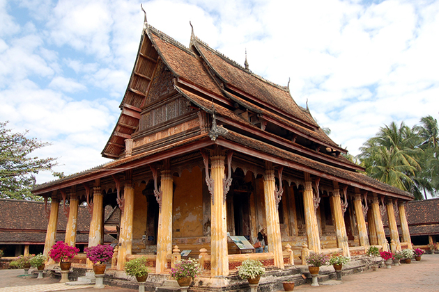 Wat Sisaket in vientiane, Cozy Vietnam Travel