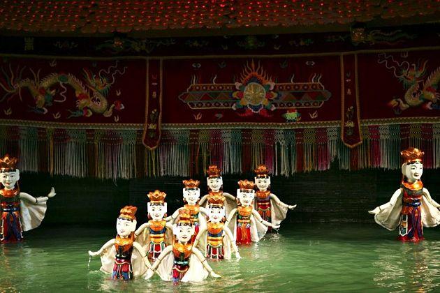 Water Puppet show Hanoi, Cozy Vietnam Travel, Vietnam Tours