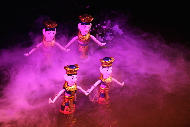 Water Puppet Show in Hanoi, Tours, Cozy Vietnam Travel