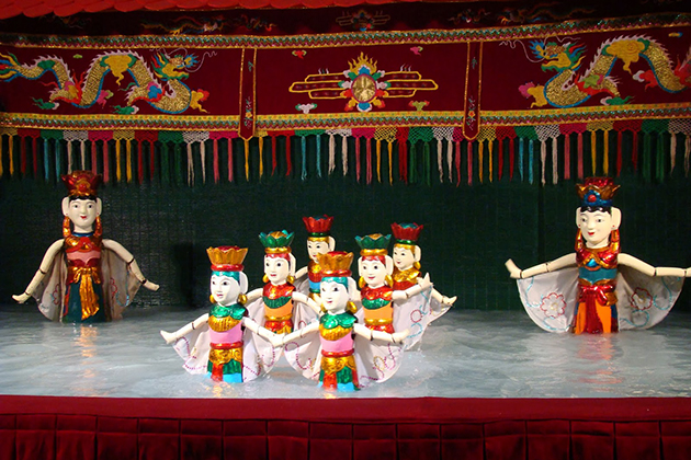 Water puppet show, Cozy Vietnam Travel