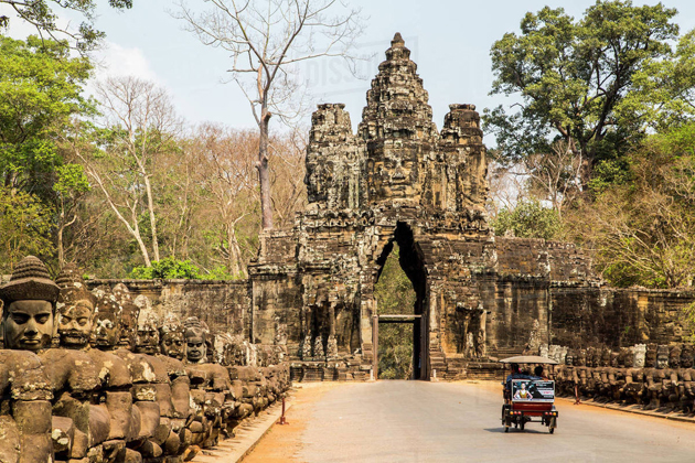Angkor Temple, Indochina Tour