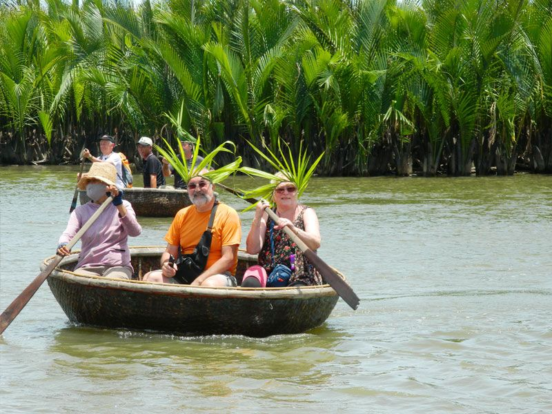 Basket boating in Hoi An, Hoian Travel, Cozy Vietnam Travel