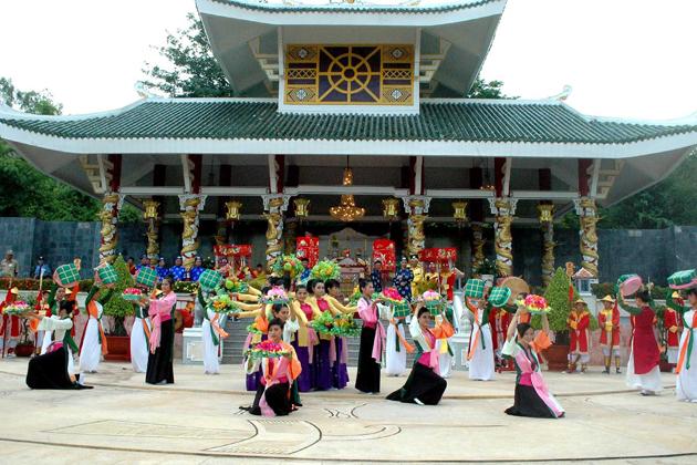 Ba Chua Xu Temple in Chau Doc, Travel, Cozy Vietnam Travel